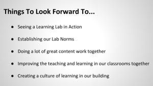 Establishing a Culture of Learning (9)