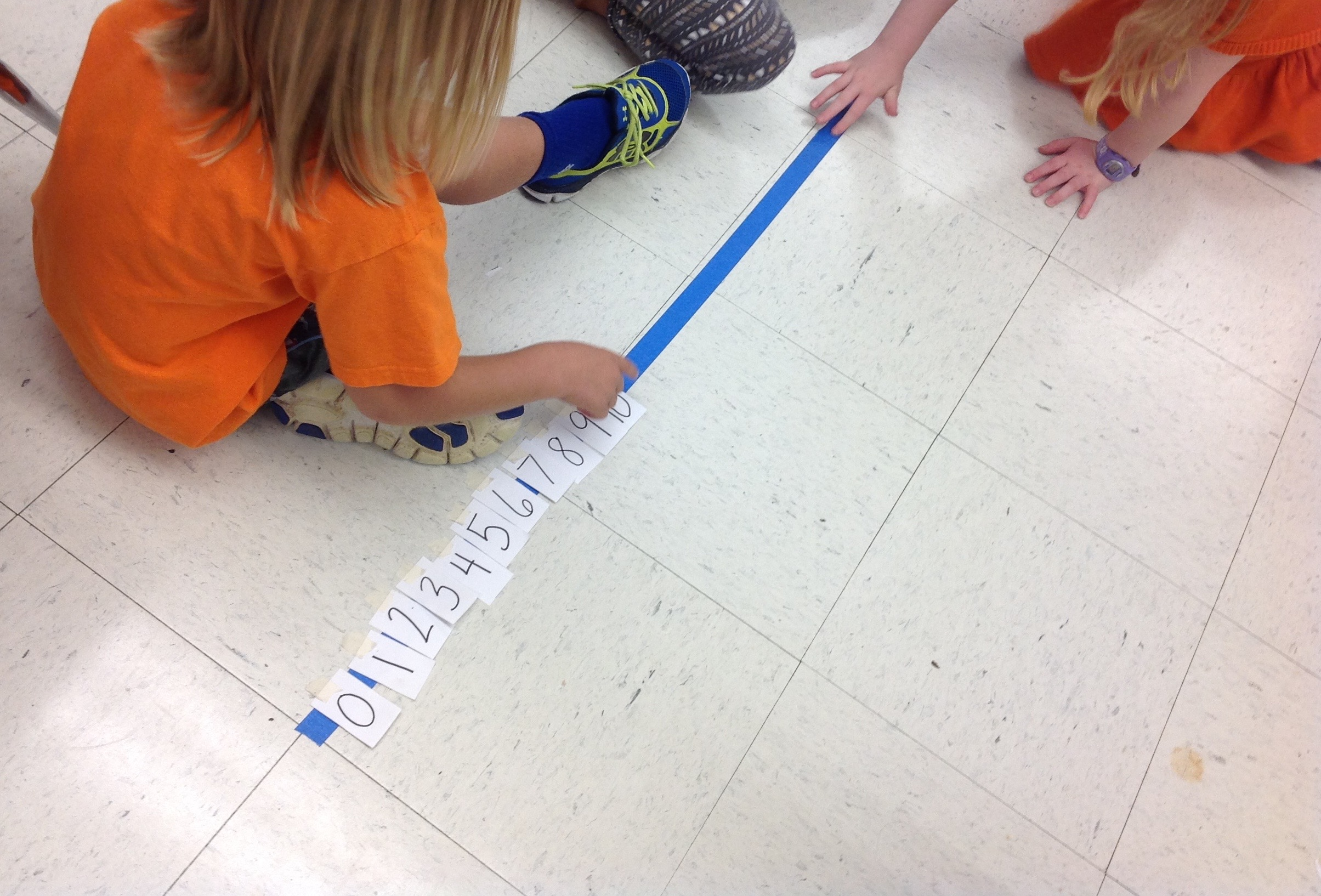 Number line math minds for Floor number line